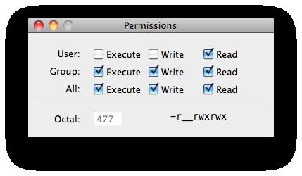 Permissions Mac App