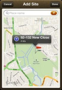 Windsock Screenshot of Dynamic maps