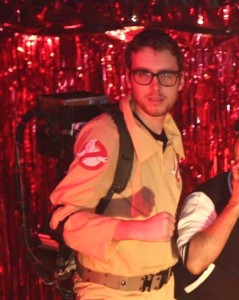 Richard Warrender as a Ghostbuster